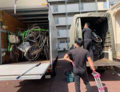愛知県 名古屋市 中村区 マンション 放置自転車 回収!!